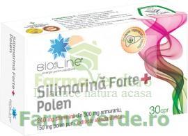 Silimarina Forte+ Polen 30 comprimate ACHelcor