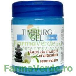 Timburg Gel Masaj Dureri Articulare,Reumatism BINGO Albastru 500gr Trans