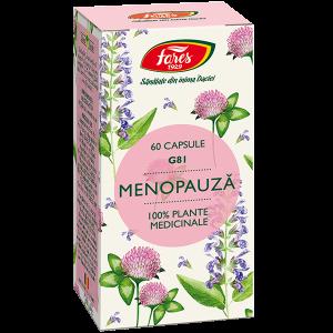 Menopauza 60 capsule Fares