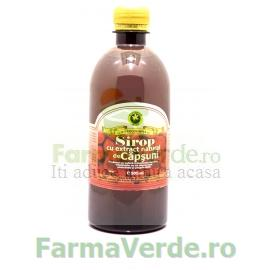 Sirop cu extract natural de Capsuni 500 ml Hypericum