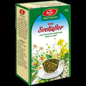 Ceai Sveltaflor Pentru Slabit 50 g Fares