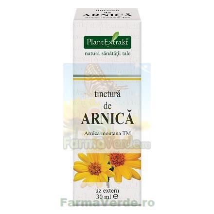 Tinctura de arnica 30 ml ( ARNICA MONTANA ) PlantExtrakt