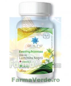 Ulei de Luminita Noptii 500 mg cu Vitamina E 30 capsule ACHelcor